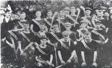 Offaly Senior Hurling Champs 1905